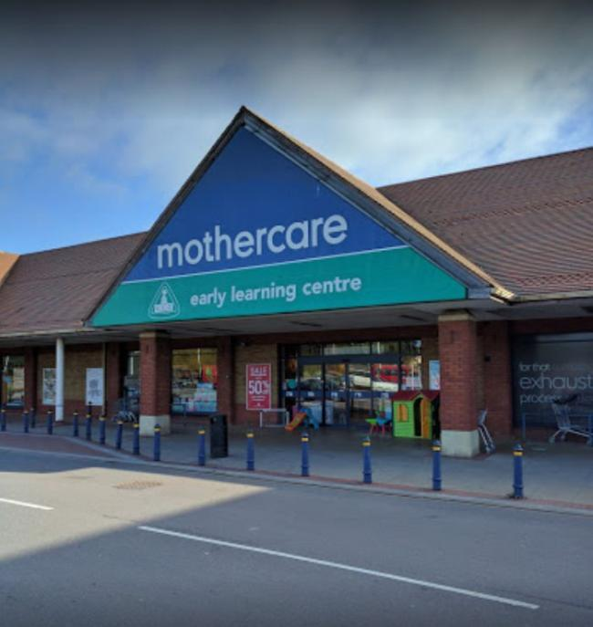 CLOSING DOWN: Mothercare in Taunton