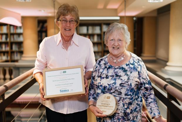 North Curry Community Coffee Shop Scoops Prestigious Award