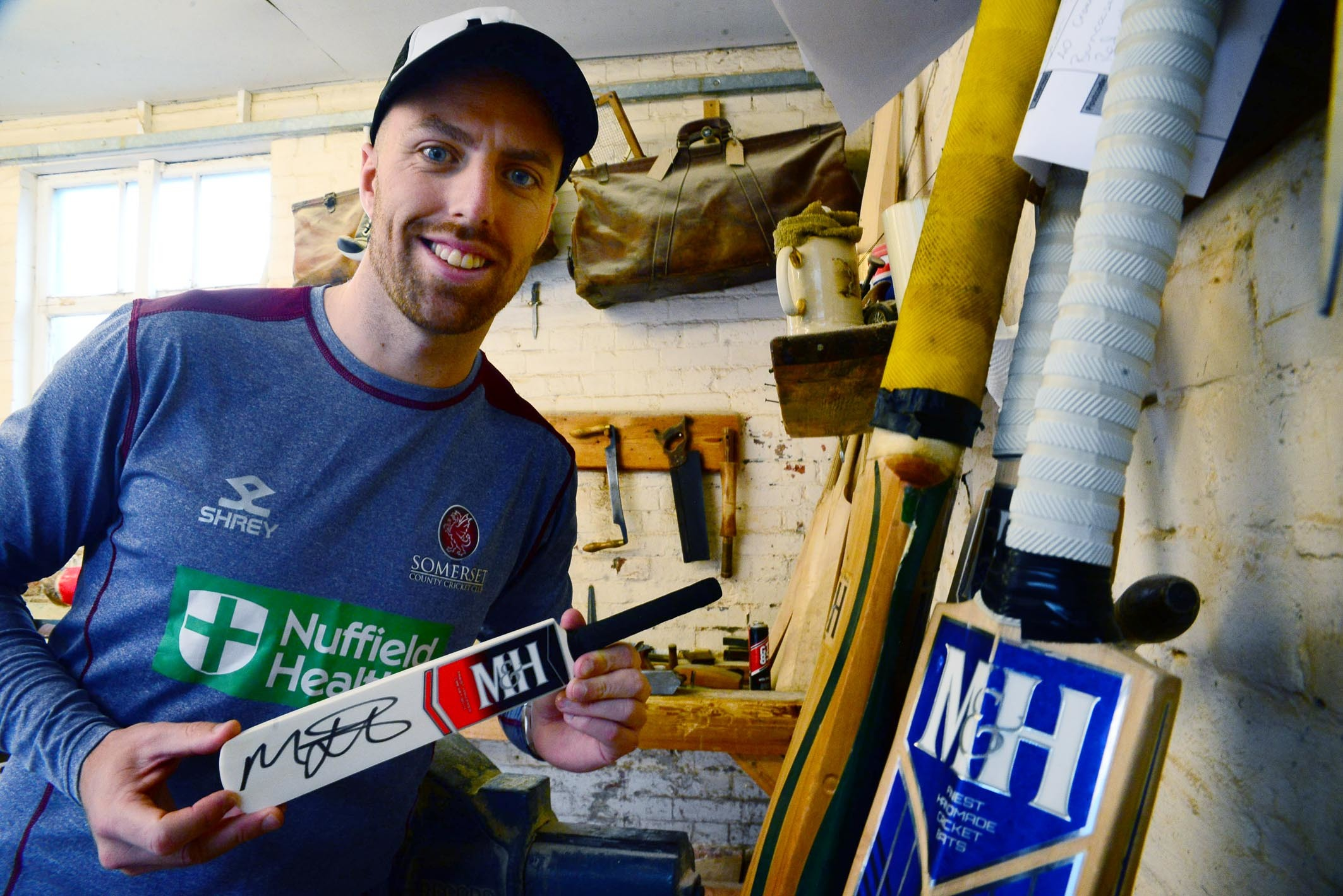 Competition: Win a cricket bat signed by Ashes hero Jack Leach!