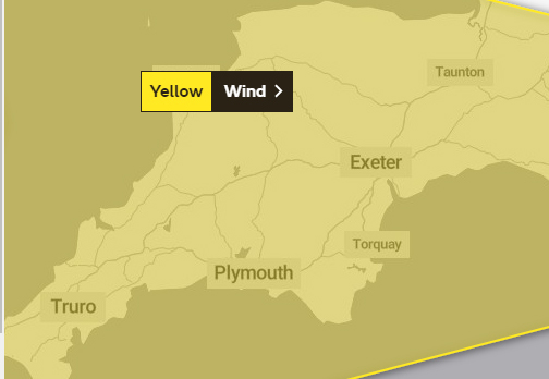 Somerset warned of 70mph winds this weekend as Storm Atiyah hits