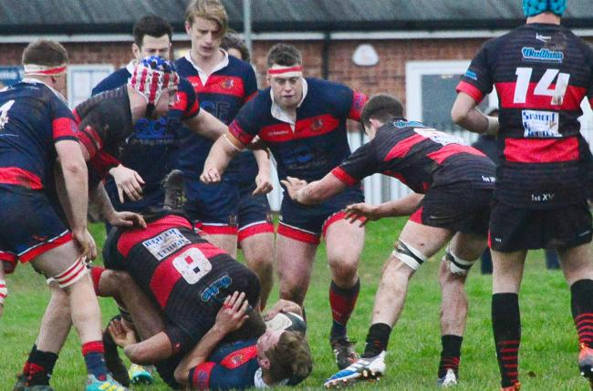 Rugby - Wiveliscombe v Wellington. Pic: Steve Richardson.