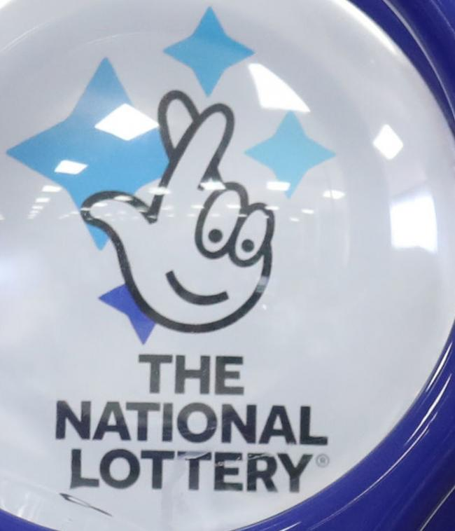 File photo dated 02/08/18 of a National Lottery sign, as operator Camelot has announced it will increase the prize pots for its Lotto game after a slump in ticket sales. PRESS ASSOCIATION Photo. Issue date: Monday September 3, 2018. Matching five or more