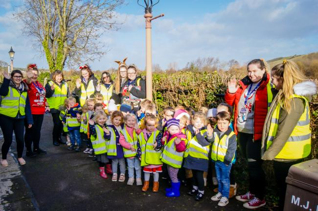 TRIP: The outing was organised by the Community Council for Somerset