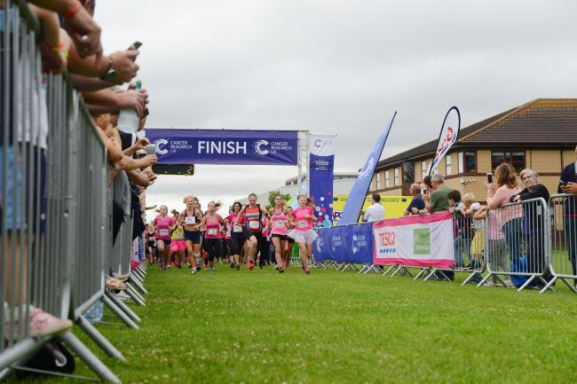 GET YOUR TRAINERS ON: For the Race For Life in Taunton