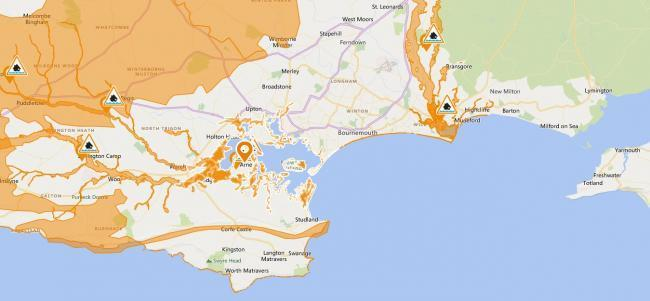 Flood Alert issued by Environment Agency