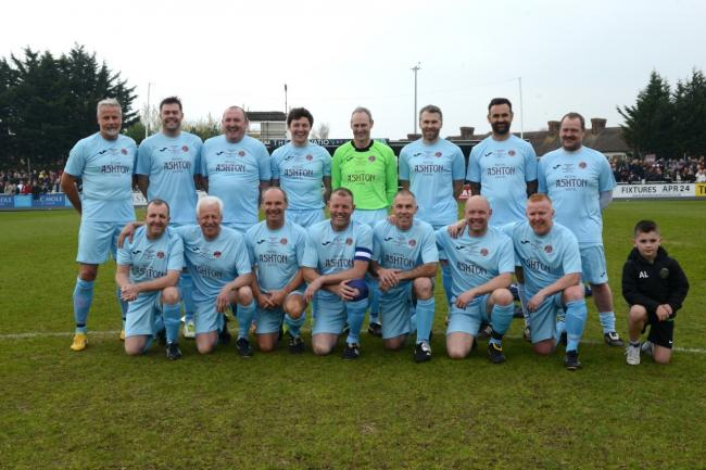 SQUAD: Last year's Taunton Town Legends side