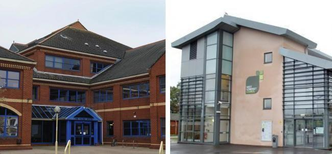 SCRAPPED: The head offices of the former Taunton Deane Borough Council and West Somerset Council