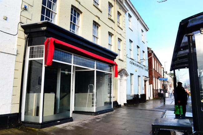 COMING SOON: New cafe in former Sprague butchers, High Street, Wellington