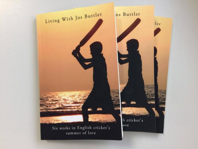 COMPETITION TIME: We have three copies of 'Living With Jos Buttler' to give away