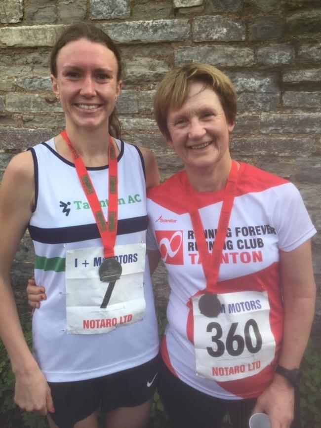 OFFER: Hannah Taunton (left), with her mum Gill Taunton