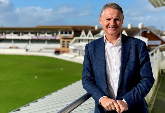 NEW CEO: Gordon Hollins. Pic: SCCC