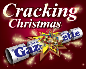 Somerset County Gazette: Christmas Logo Gazette