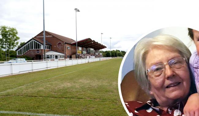 TRAGEDY: Jennifer Selwood died after being hit by a rugby ball at Taunton Rugby Club's Towergate Stadium