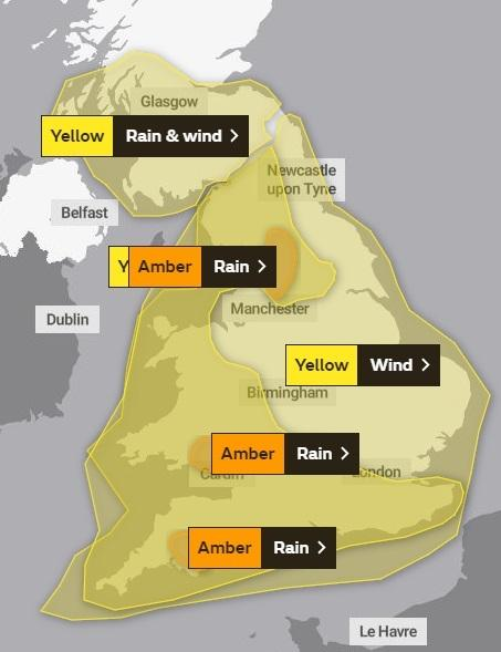 WARNINGS: Somerset to be hit by more extreme weather
