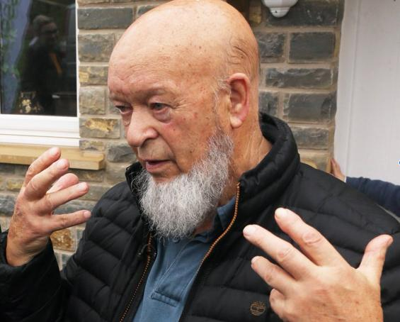 HOUSING EFFORTS: Michael Eavis. PICTURE: Jason Bryant