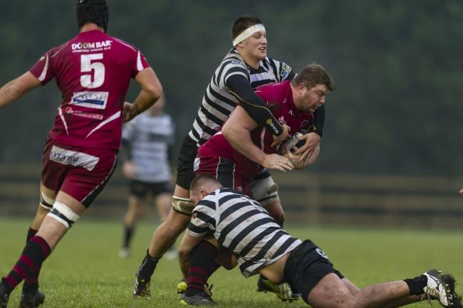 TRY-SCORER: Taunton's Sam Prior