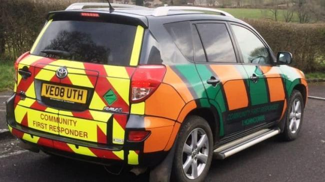 FRUSTRATED: First responders in Somerset have been stood down