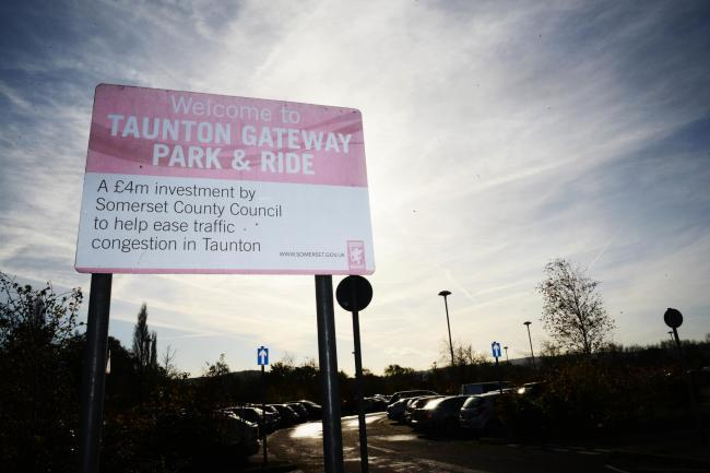 Taunton park and ride site remains closed