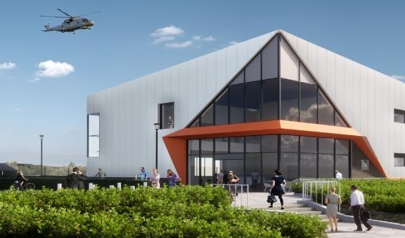 JOBS HOPE: An impression of the new iAero Yeovil Centre. PICTURE: Somerset County Council