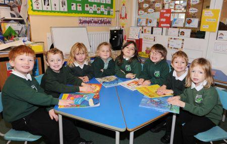Reception Classes from Taunton, Wellington, Wiveliscombe and West Somerset 2009