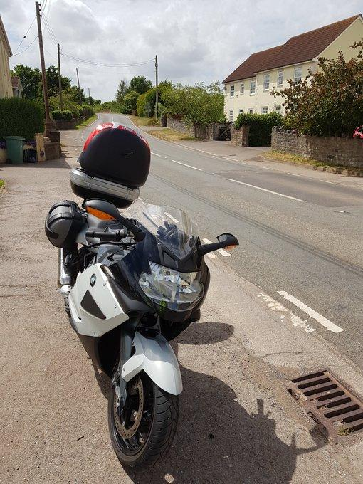 GOTCHA: Unmarked motorbike in Taunton area to catch speeding motorists