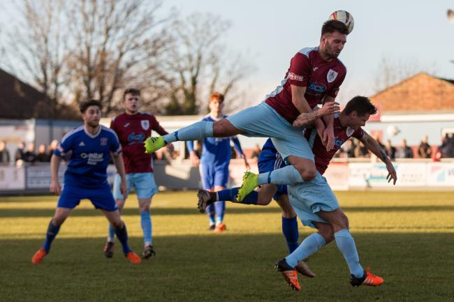 DEPARTURE: Matt Wright and Shane White (pictured right) have left Taunton Town. Pic: Tim Norbury