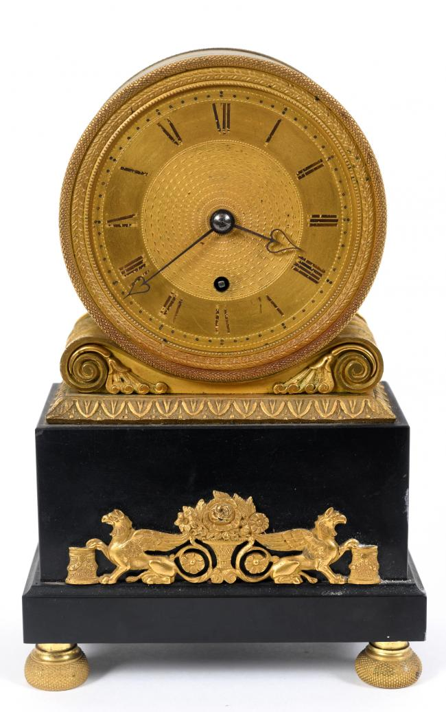 ON SALE: A Regency mantle clock - £200-400 - in the Charterhouse auction of clocks, collectors' items and antiques on July 2 and 3
