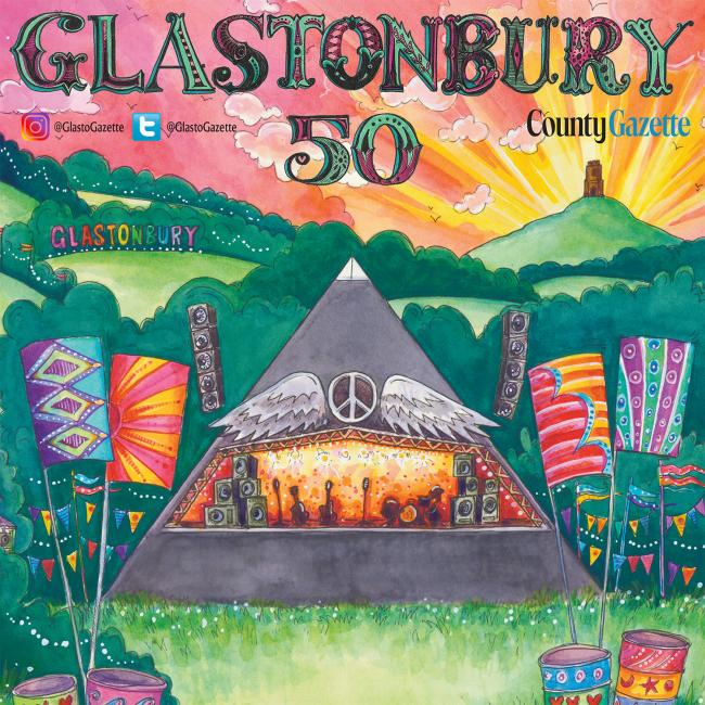SUPPLEMENT: The County Gazette has marked 50 years since the first Glastobury Festival