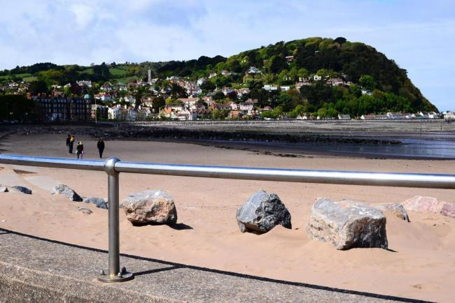 TOURIST ATTRACTION: Minehead seafront