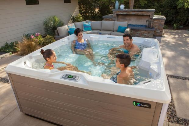 Hot tub sales have surged 1,000 per cent
