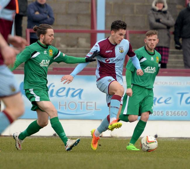 NEW ARRIVAL: Jordan Copp in action for Weymouth (Pic: Finnbarr Webster/Dorset Echo)