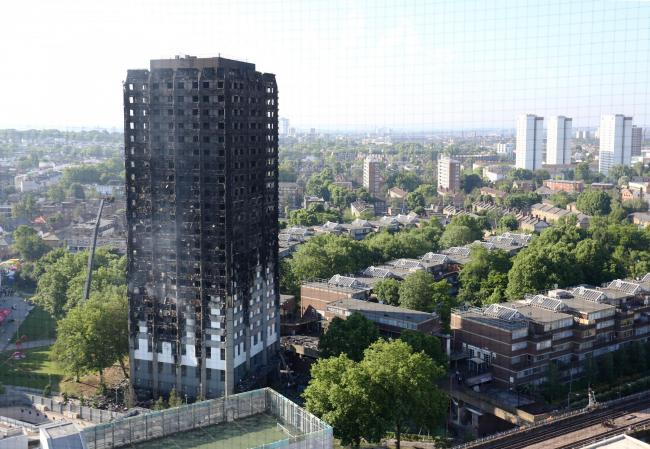 RECOMMENDATIONS: Grenfell Tower in 2017, after fire destroyed the block. PICTURE: Rick Findler/PA Wire