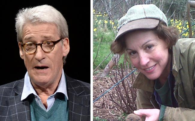 LITTER ROW: Jeremy Paxman and Rebecca Pow