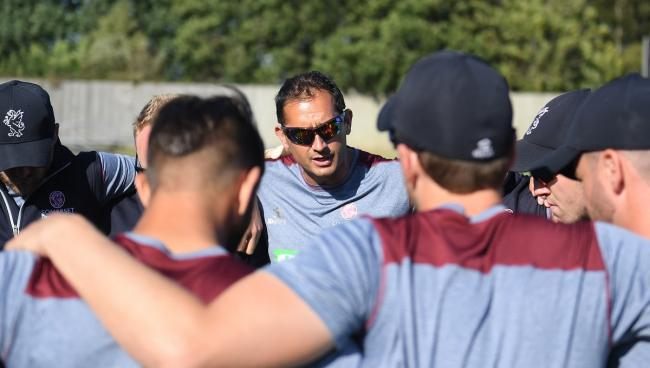 LOOKING AHEAD: Somerset head coach Jason Kerr