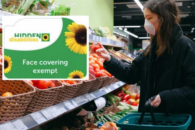 Face mask exemption card launches for shoppers. Picture: Newsquest