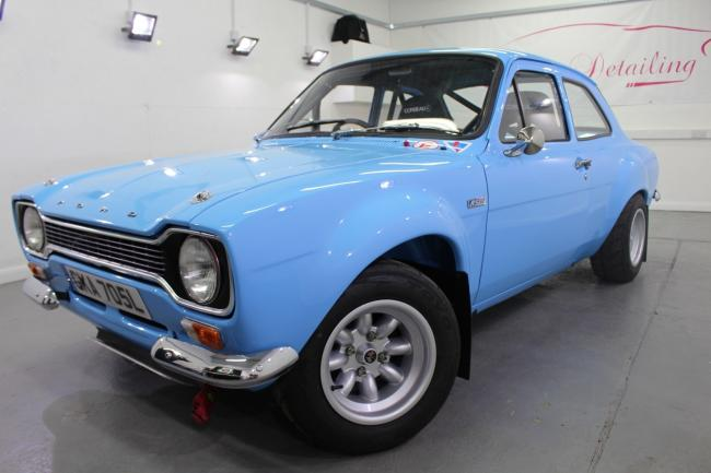 UP FOR AUCTION: 1973 Ford Escort RS1600 Group 4 Rally car - £100,000-120,000