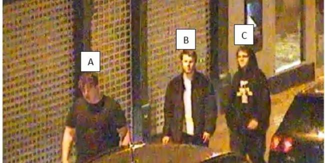 DO YOU RECOGNISE THEM?:  Officers investigating the serious assault have released this image of three men they would like to speak to in connection with the incident