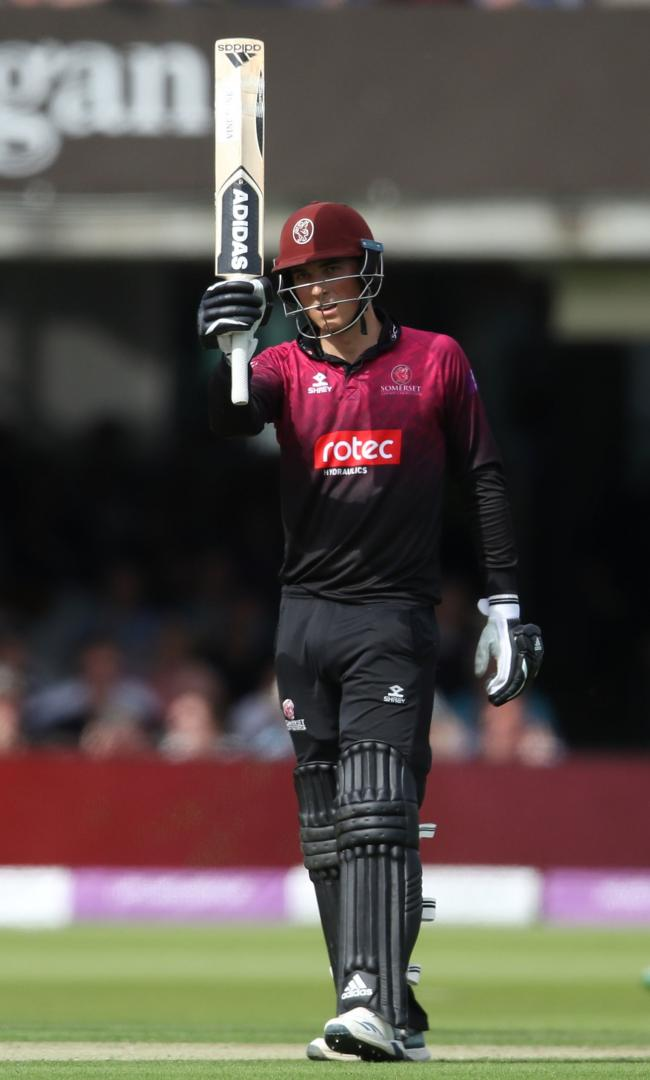 TALENT: Somerset and England cricketer Tom Banton (pic: Tim Goode/PA Wire)