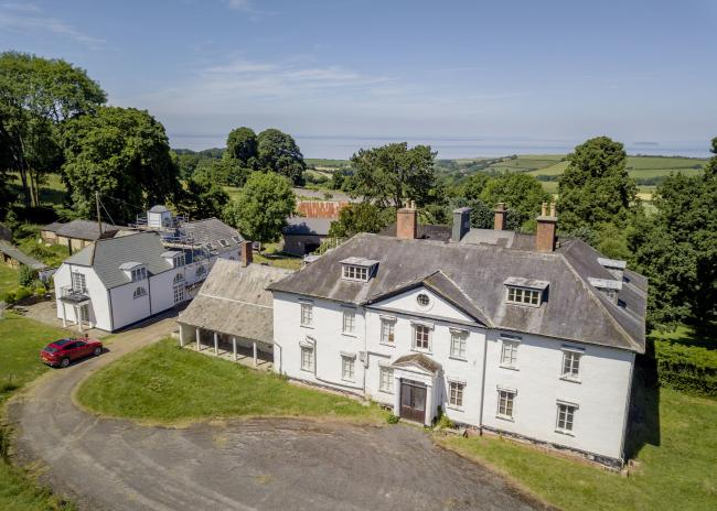 SOLD: The former Alfoxton Park Hotel, once home to William Wordsworth