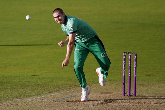 Ireland's Josh Little has been reprimanded by the ICC