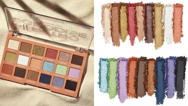 Somerset County Gazette: Choose from metallic and matte finishes and vibrant and neutral colours with the E.L.F. Cosmetics Retro Paradise Eyeshadow Palette. Credit: E.L.F. Cosmetics