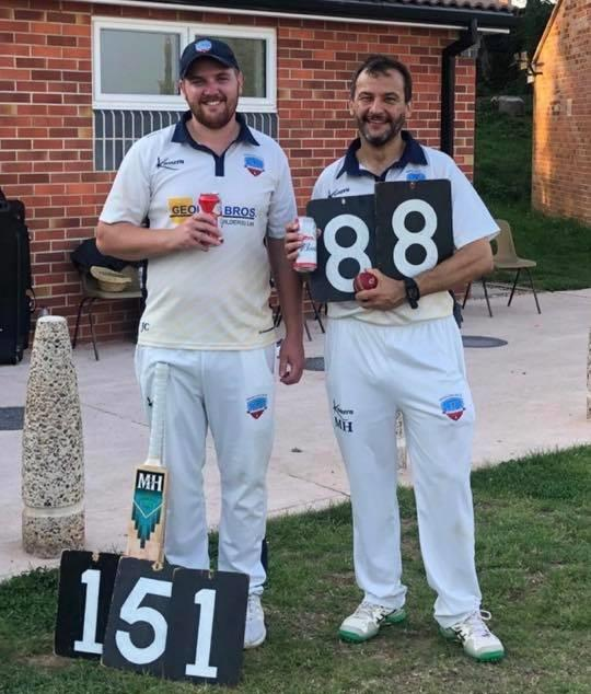 Club's best ever bowling figures and massive century in Bishop's Hull's weekend win