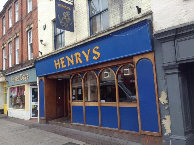 PROPOSALS: The former Henrys pub in High Street, Taunton