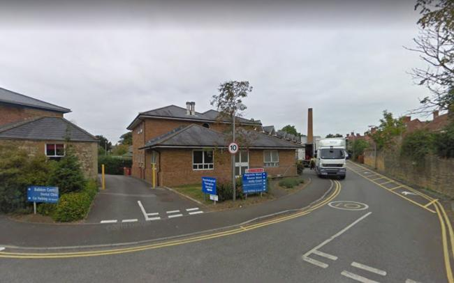 Summerlands Hospital in Yeovil where Rowan Ward is based - only a mile from the nearest emergency department
