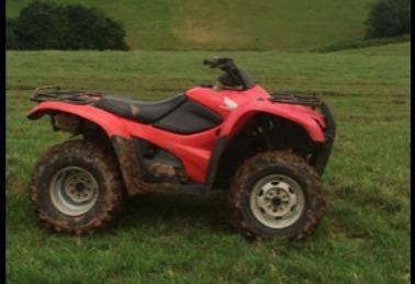 Police appeal after two quad bikes stolen overnight