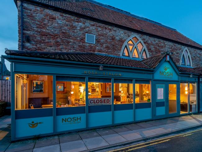Nosh-stalgia, a restaurant in Wells that was hugely busy thanks to the Eat Out to Help Out scheme