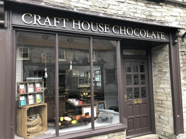 Craft House Chocolate in Somerton won 3 stars at the Great Taste Awards