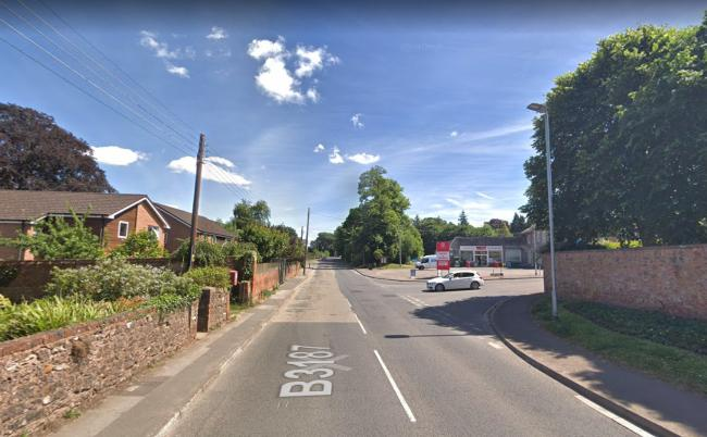 Milverton Road Northbound is blocked from Owen Street to Stoneleigh. Pic: Google Maps