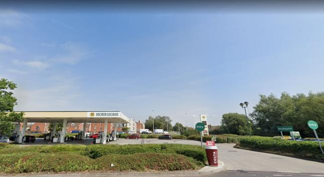 Morrisons petrol station in Weston-super-Mare. Pic: Google Maps