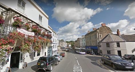 Market Place Road in Frome, set to open on October 2. Pic: Google Maps